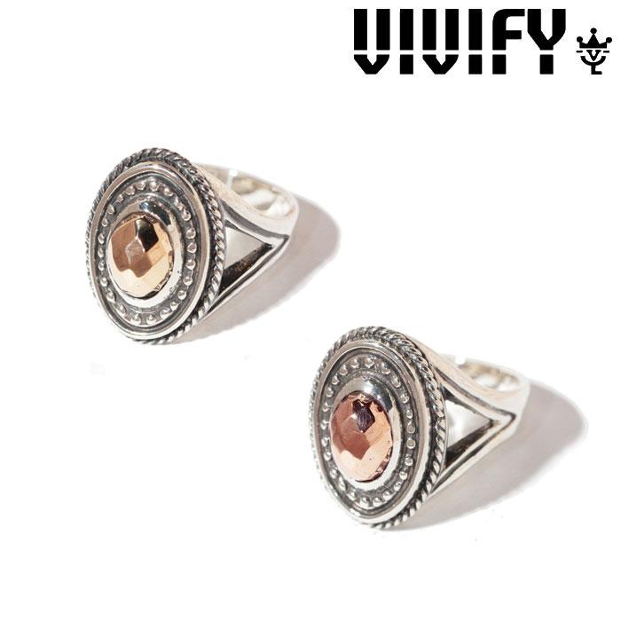 VIVIFY(ヴィヴィファイ)(ビビファイ) K10CheckerCutStone Setting Ring【オーダーメイド 受注生産】【キャンセル不可】【ハンドメイド リング】【VFR-113】