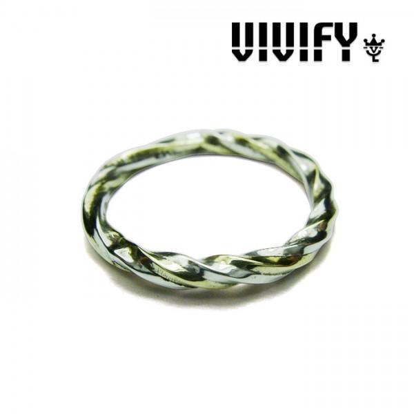 VIVIFY(ヴィヴィファイ)Silver x Brass Spiral Ring【smtb-TK】【送料無料】【リング】