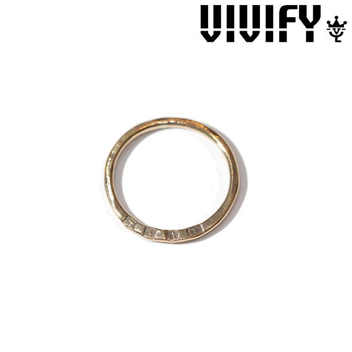 VIVIFY(ヴィヴィファイ)(ビビファイ) K18gold Hallmarks Ring【オーダーメイド 受注生産】【キャンセル不可】【ハンドメイド リング】【VFR-116】
