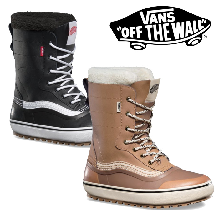 【SALE30%OFF】VANS(バンズ)STANDARD SNOW BOOTS【スノーブーツ】【防寒 雪】【セール】【VN0A3TFMNWH】【VN0A3TFMY28】