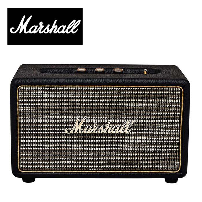 Marshall ACTON マーシャル アクトン Bluetoothスピーカー (Black) 並行輸入品