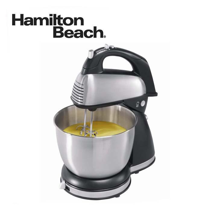 ハミルトンビーチ スタンドミキサ 64650 Hamilton Beach Hand/Stand Mixer - Black/ Chrome 並行輸入品