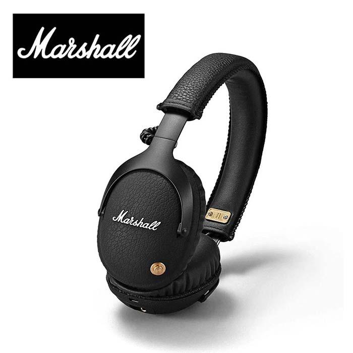 Marshall Headphones MONITOR BLUETOOTH マーシャル ヘッドホン モニター ブルートゥース ワイヤレス ブラック 並行輸入品