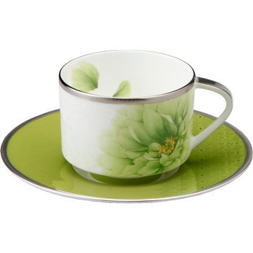 【NARUMI(ナルミ) デルフィーヌ】 ティー・コーヒー碗皿(1客) 【ギフト・贈り物・婚礼引出物・内祝い・出産内祝い・内祝】
