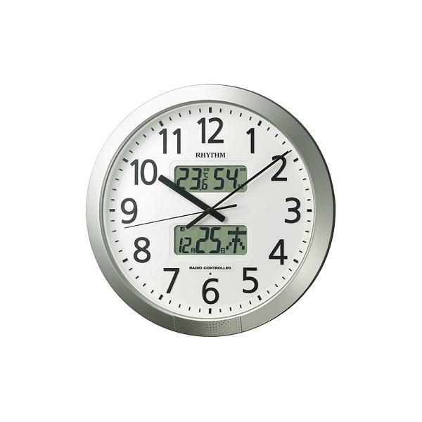 【リズム RHYTHM】 オフィスクロック  プログラムカレンダー404SR