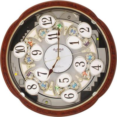 【シチズン CITIZEN】電波からくり時計 スモールワールド コンベルS 【送料無料 送料込み】