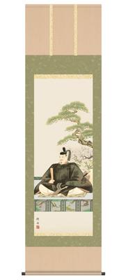 【送料無料】【2013年新作】 掛け軸 天神(尺五)/長江桂舟