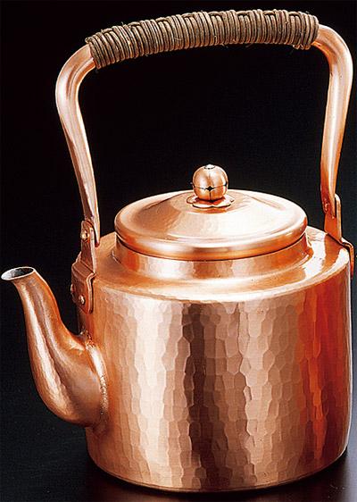 新鎚起銅器シリーズ 湯沸かし2.5L 【送料無料 送料込み】