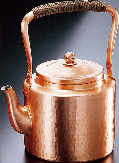 新鎚起銅器シリーズ 湯沸かし3.5L 【送料無料 送料込み】