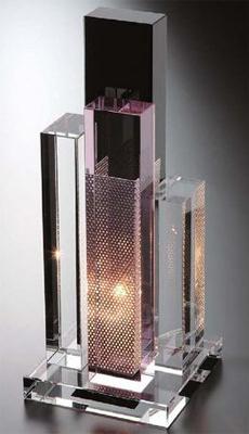 NARUMI(ナルミ) GLASS WORKS ランプスタンド マンハッタン 【ギフト・贈り物・婚礼引出物・内祝い・出産内祝い・内祝】
