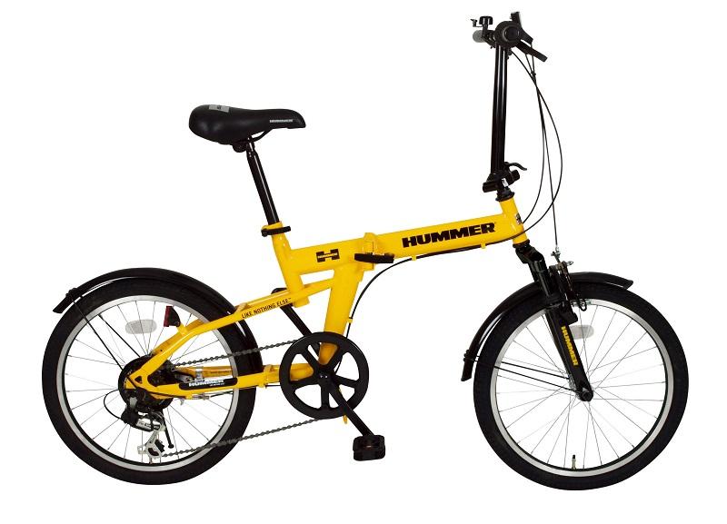 「折りたたみ自転車」HUMMER FサスFDB20 6S ハマー MG-HM206 【送料無料 送料込み】