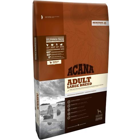 【送料無料】ACANA アカナ ヘリテージ アダルトラージブリード 大型犬成犬用 11.4kg