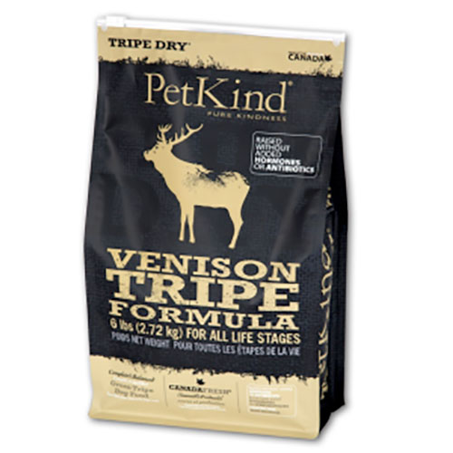 【送料無料】PetKind ペットカインド TripeDry グリーンベニソントライプ 11.34kg