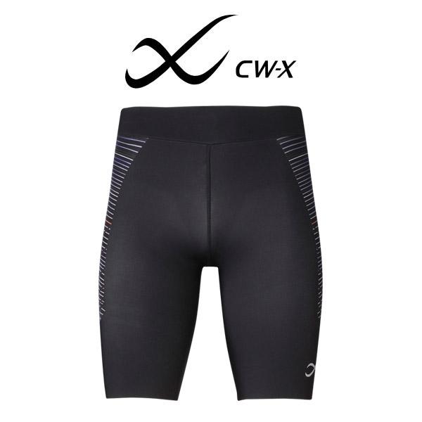 【22%OFF】ワコール CW-X スポーツタイツ スピードモデル ハーフ スポーツ用タイツ メンズ 全1色 S/M/L HPO695