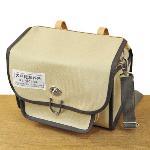 Dog sign 純綿 canvas bicycle Saddle bag (small) ...