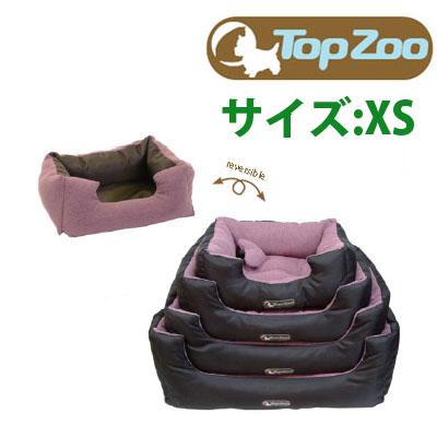 TOPZOO(トップズー) ドゥドゥ コージー キャンバス サイズ:XS カラー:ピンク 犬 猫 ベッド ペット用品 ペット 犬用品 ベット ペットベット ペット用ベッド ドッグベッド キャットベッド 犬のベッド 犬用ベッド クッション ペットベッド 猫ベット ソファ ペットソファー