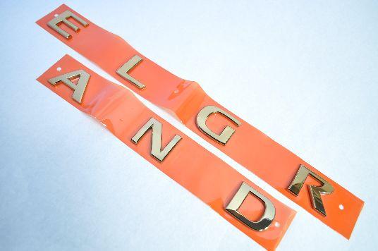 E51エルグランド エルグランドロゴ ゴールドエンブレム  純正/メッキ/カラーメッキ/セット/単品/車/車パーツ/カーパーツ/高品質/送料無料
