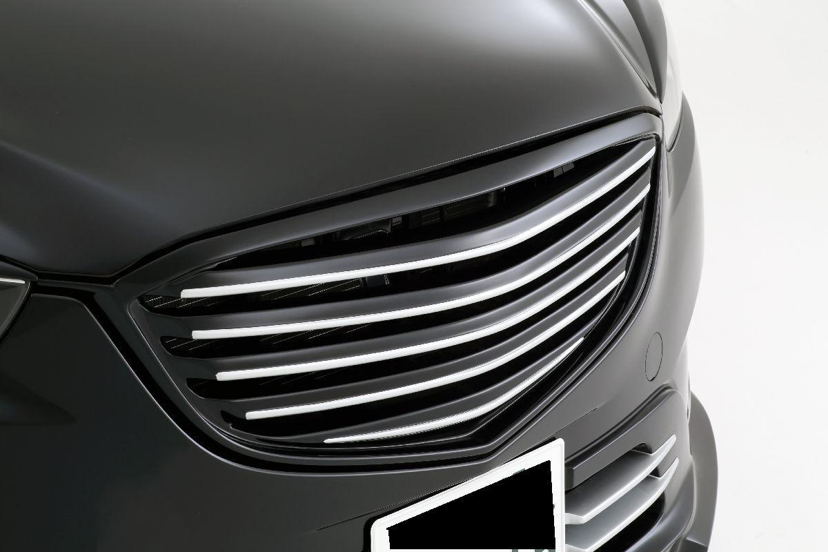 Mazda mazda cx 9 front grill : inventer | Rakuten Global Market: CX-5 front Grill Aero painted ...