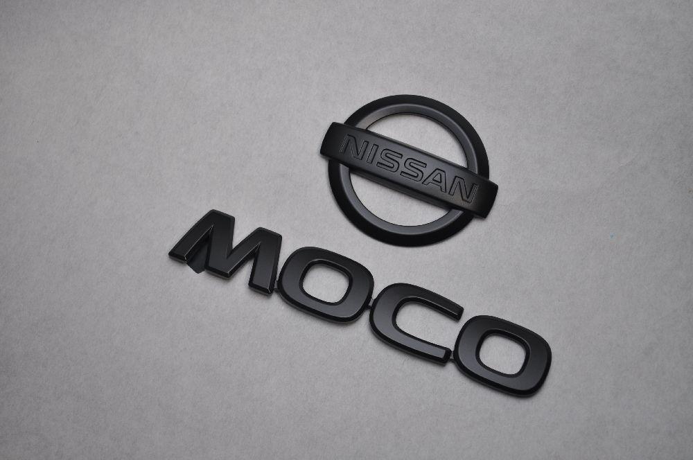 MG22 モコ マットブラックエンブレム(艶消し) リアw2点SET  純正/メッキ/艶消し/黒/セット/単品/車/車パーツ/カーパーツ/高品質/送料無料