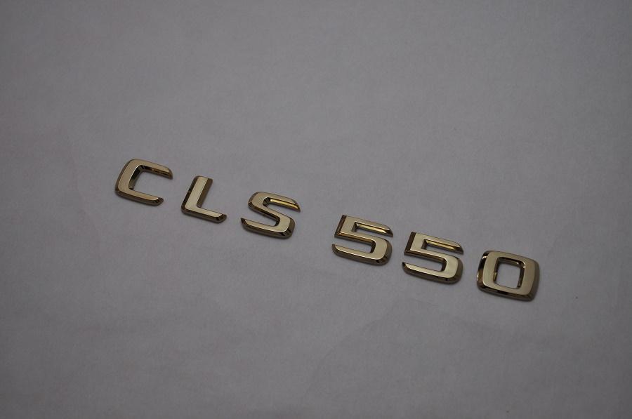 W221 ベンツ Sクラス ゴールドエンブレムCLS550ロゴ   純正/メッキ/カラーメッキ/セット/単品/車/車パーツ/カーパーツ/高品質/送料無料