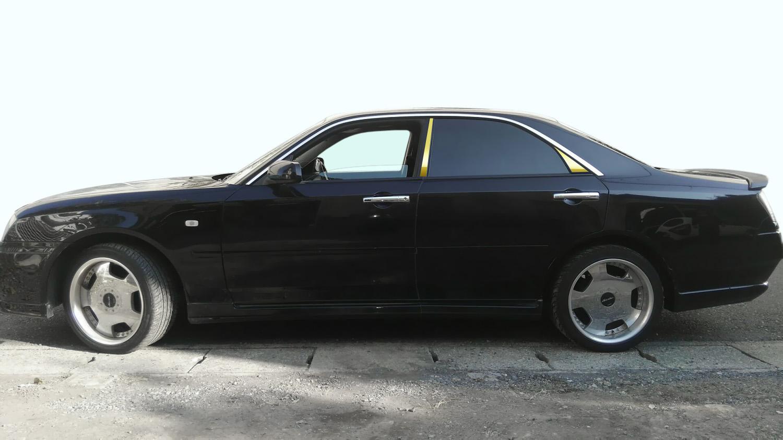 【最鏡面】Y34系グロリア ステンレスピラー鏡面HYPERゴールド ピラー/ニッサン/日産/車/車パーツ/ピラーパネル/ステンレス/高品質/送料込み