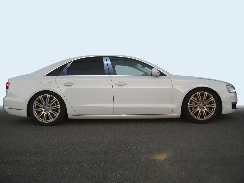 【ハイクオリティー】アウディ A8 4HC*** ステンレスピラーヘアラインブルー ピラー/アウディ/車/車パーツ/ピラーパネル/ステンレス/高品質/送料込み