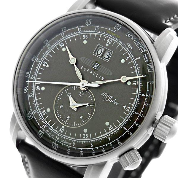 (~8/31) 7640-2 ツェッペリン ZEPPELIN 100周年 記念モデル クオーツ LZ1 クオーツ 記念モデル 腕時計 7640-2 ブラック メンズ, いいもん:cf0a10d6 --- officewill.xsrv.jp