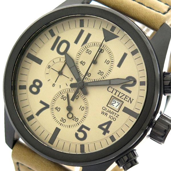 (~8 腕時計/31) シチズン CITIZEN 腕時計 AN3625-07X クォーツ ライトブラウン CITIZEN メンズ ベージュ メンズ, アカボリマチ:e43808f8 --- officewill.xsrv.jp