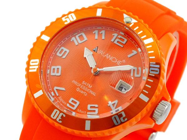【大感謝祭】(~12/26 01:59)(~12/25)【キャッシュレス5%】アバランチ AVALANCHE 腕時計 AV-100S-OR-40 レディース