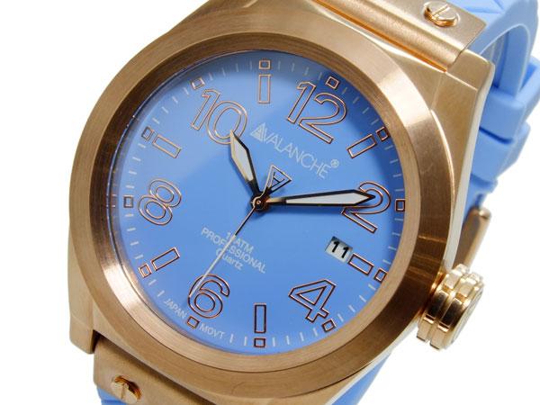(~4/30)【キャッシュレス5%】アバランチ AVALANCHE クオーツ ユニセックス 腕時計 AV1028-BURG