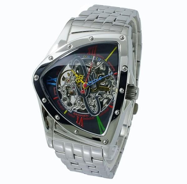 (~4/30)【キャッシュレス5%】コグ COGU 流通限定モデル フルスケルトン 自動巻き 腕時計 BNT-BKC メンズ