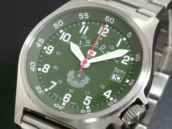 【スーパーSALE】(~9/11 01:59)(?9/30) ケンテックス KENTEX 陸上自衛隊モデル 腕時計 S455M-01M メンズ