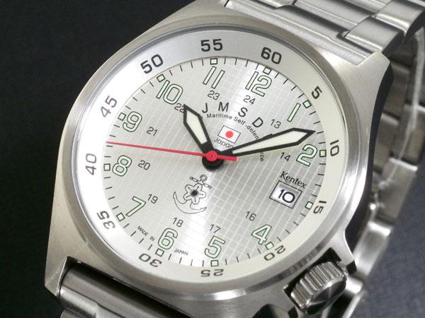 【スーパーSALE】(~9/11 01:59)(?9/30) ケンテックス KENTEX 海上自衛隊モデル 腕時計 S455M-03M メンズ
