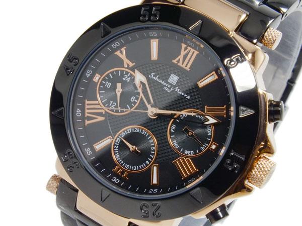 (~8/31) 腕時計 メンズ サルバトーレマーラ SALVATORE MARRA クオーツ メンズ 腕時計 SM14118-PGBK SM14118-PGBK, ゴムシート シリコンShop あいづ:b40e089d --- officewill.xsrv.jp