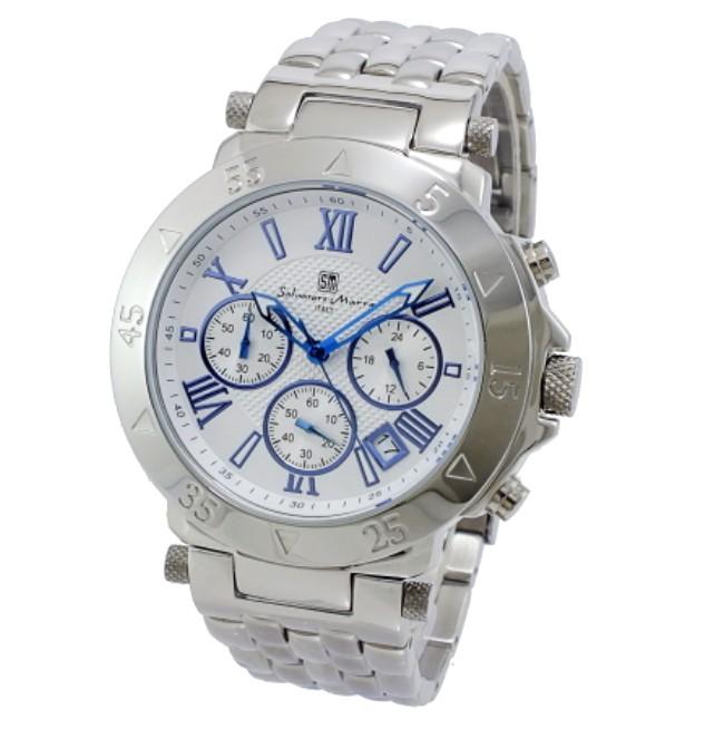 (~8 腕時計/31) サルバトーレマーラ SALVATORE MARRA クロノグラフ 腕時計 メンズ SM8005-SSWH (~8/31) メンズ, MARIAGE:21f99002 --- officewill.xsrv.jp