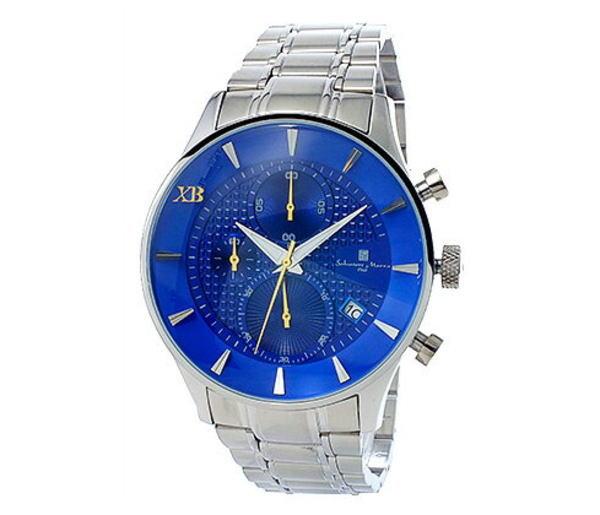 (~8/31) サルバトーレマーラ SALVATORE 腕時計 SALVATORE MARRA MARRA XB メンズ クロノグラフ 腕時計 SMXB-001SS-SSBL ブルー文字盤 ステンレスベルト, ナトリシ:d36564b1 --- officewill.xsrv.jp