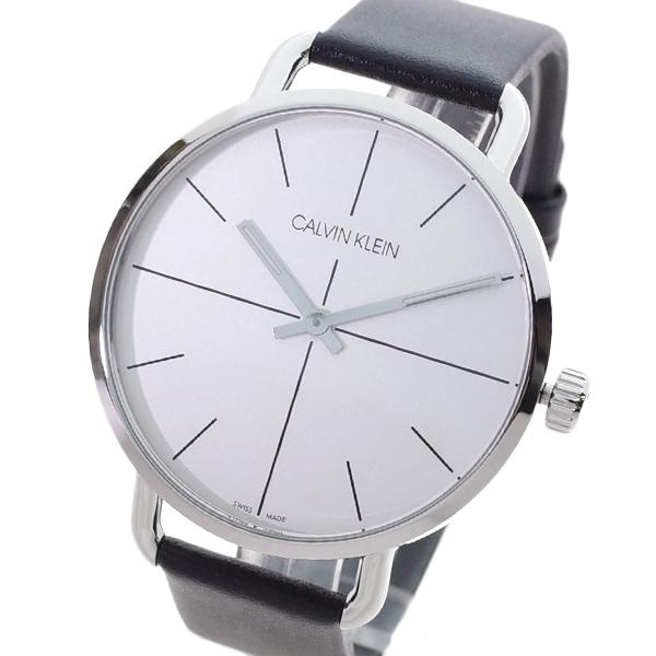 (~4/30)【キャッシュレス5%】カルバンクライン CALVIN KLEIN 腕時計 K7B211CY イーブンエクステンション EVEN EXTENSION クォーツ ホワイト ブラック メンズ
