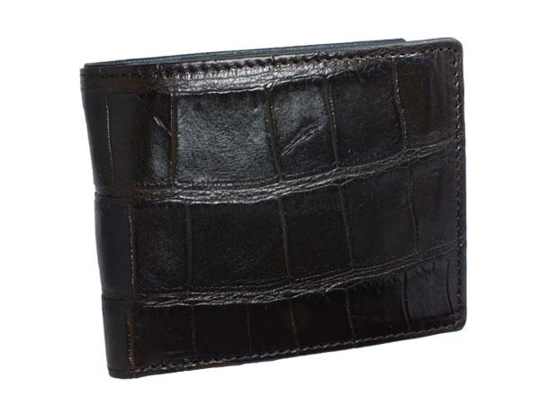 (~4/30 23:59) ロダニア RODANIA 日本製 クロコ 短財布 RD4159BR メンズ