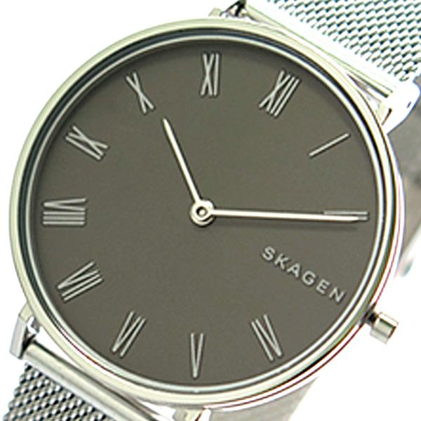 (~4/30)【キャッシュレス5%】スカーゲン SKAGEN 腕時計 SKW2677 ハルド HALD クォーツ グレー シルバー レディース