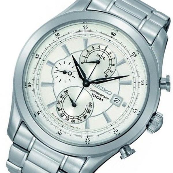 (~8/31) (~8/31) セイコー メンズ SEIKO クオーツ クロノグラフ クロノグラフ 腕時計 SPC163P1 シルバー メンズ, ヤマグチムラ:accb39b5 --- officewill.xsrv.jp