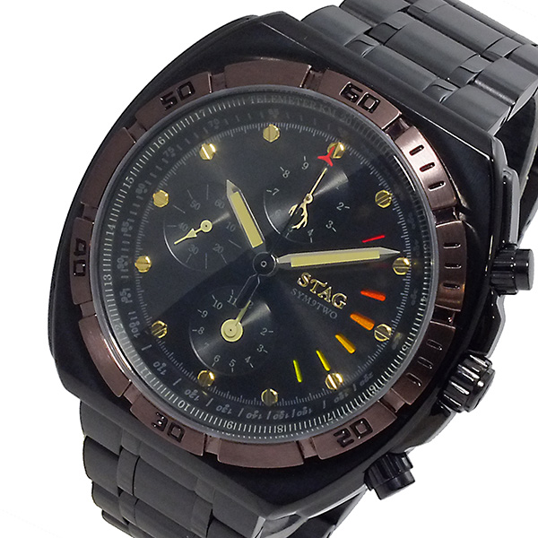 (~8/31) Line 日本製 スタッグ STAG 腕時計 Active メンズ Line 日本製 クオーツ クロノグラフ STG009B1 メンズ, 豊里町:2f025785 --- officewill.xsrv.jp