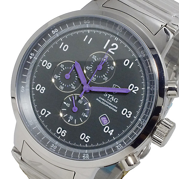 (~8/31) スタッグ STAG 腕時計 Active STAG Line Line Active 日本製 クオーツ クロノグラフ STG012S3 メンズ, 輸入家具アウトレット USfurniture:6f4dbe30 --- officewill.xsrv.jp