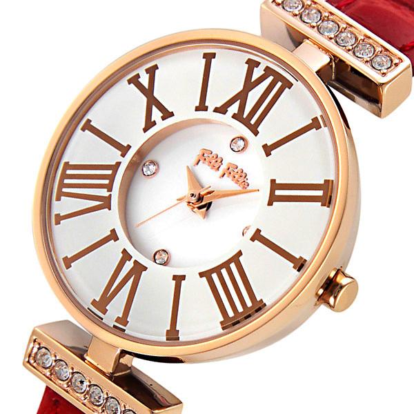 【スーパーSALE】(~9/11 01:59)(~9/30)フォリフォリ FOLLI FOLLIE ミニ ダイナスティ クオーツ 腕時計 WF13B014SSWRE レディース