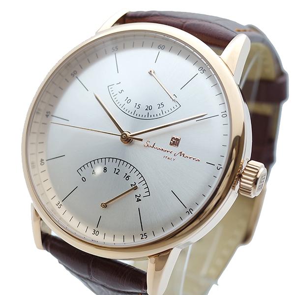 (~8/31) MARRA サルバトーレマーラ SALVATORE MARRA ブラウン 腕時計 SM19105-PGSV シルバー クォーツ シルバー ブラウン メンズ, メジャースポーツ:ba36bbd6 --- officewill.xsrv.jp
