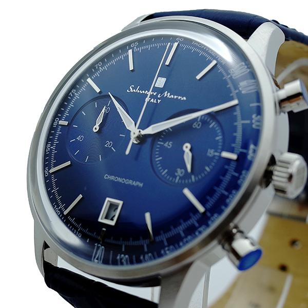 (~8 メンズ/31) SM19106-SSBL サルバトーレマーラ SALVATORE MARRA 腕時計 ネイビー SM19106-SSBL クォーツ ネイビー メンズ, nabika:eb9966b0 --- officewill.xsrv.jp