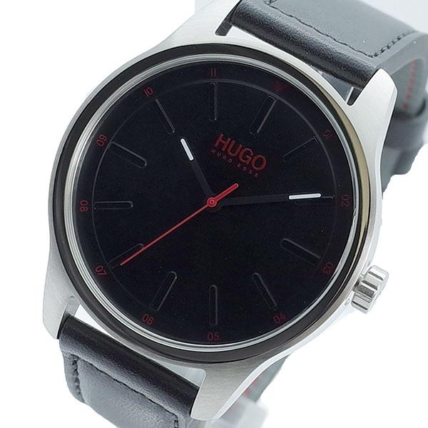 【スーパーSALE】(~9/11 01:59)(~9/30)ヒューゴボス HUGO BOSS 腕時計 1530018 クォーツ ブラック メンズ
