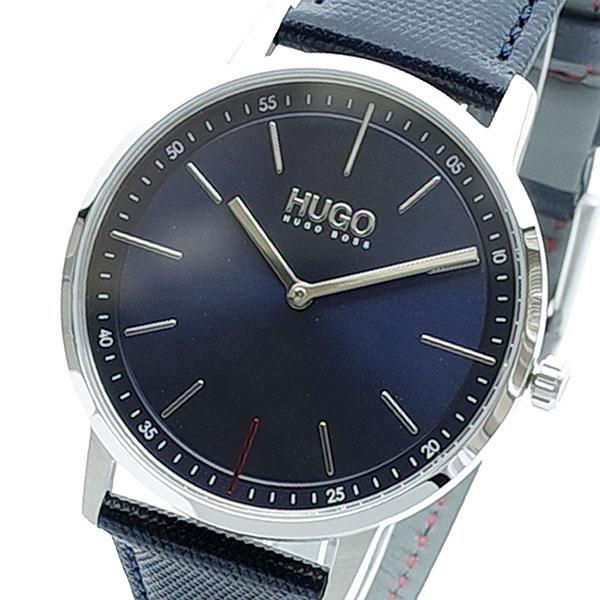 (~8/31) ヒューゴボス HUGO (~8/31) BOSS 腕時計 HUGO ヒューゴボス 1520008 クォーツ ネイビー ブラック メンズ, Collaborn girl:10e85b3e --- officewill.xsrv.jp