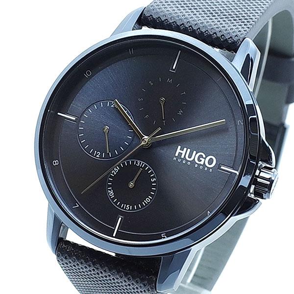 【スーパーSALE】(~9/11 01:59)(~9/30)ヒューゴボス HUGO BOSS 腕時計 1530033 クォーツ ネイビー ダークネイビー メンズ