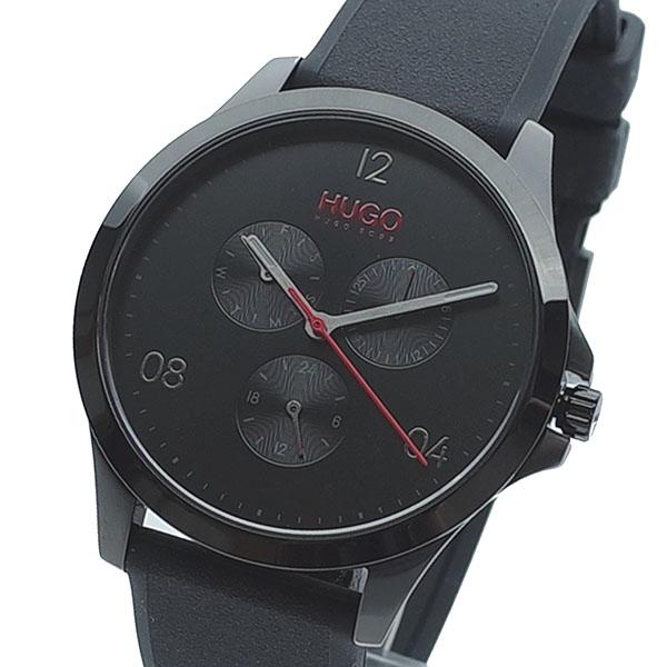 【スーパーSALE】(~9/11 01:59)(~9/30)ヒューゴボス HUGO BOSS 腕時計 1530034 クォーツ ブラック メンズ