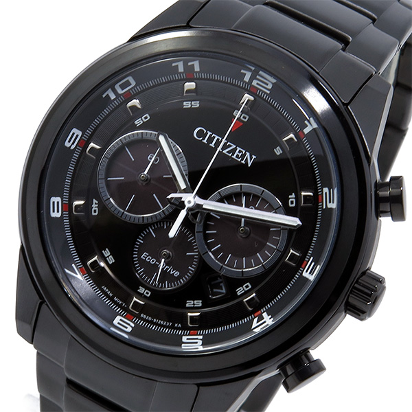 (~8/31) シチズン CITIZEN エコドライブ エコドライブ クロノグラフ クオーツ (~8/31) CA4035-57E 腕時計 CA4035-57E ブラック メンズ, 釣具のポイント:53e419ca --- officewill.xsrv.jp